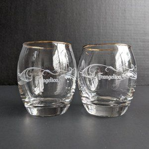 Frangelico Snifter Glasses - Set of Two - New